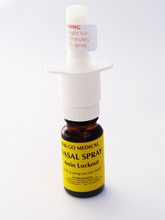 Go Medical Nasal Spray Device